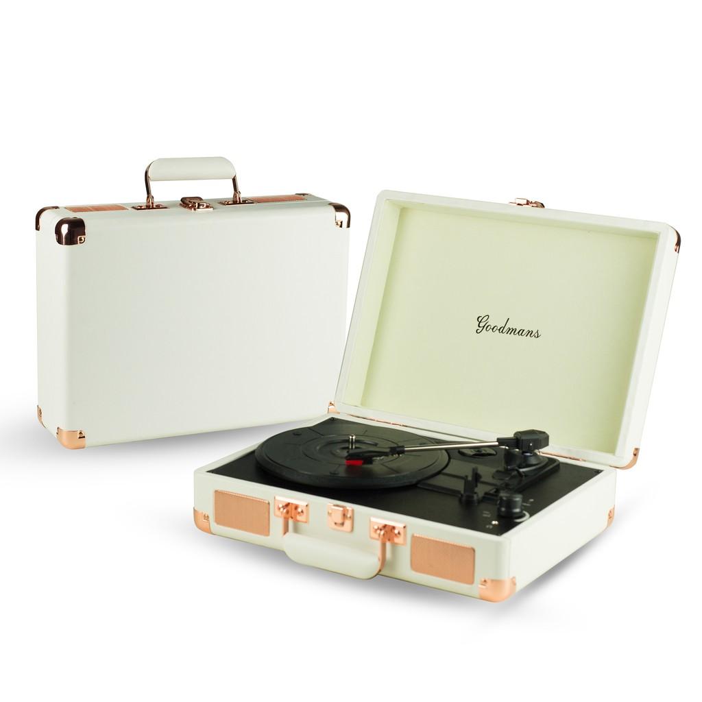 Goodmans Ealing Turntable英國手提箱黑膠唱片機 黑膠 音樂 張惠妹 蕭敬騰 周杰倫 唱片 休閒