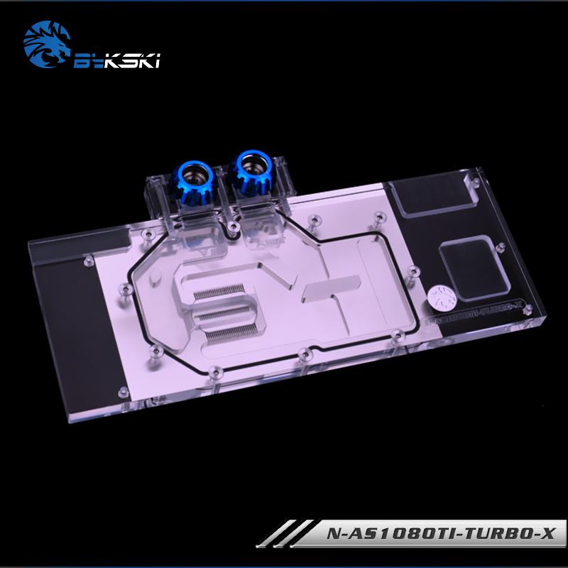 Bykski N-AS1080TI-TURBO-X 華碩TURBO GTX1080Ti顯卡散熱水冷頭