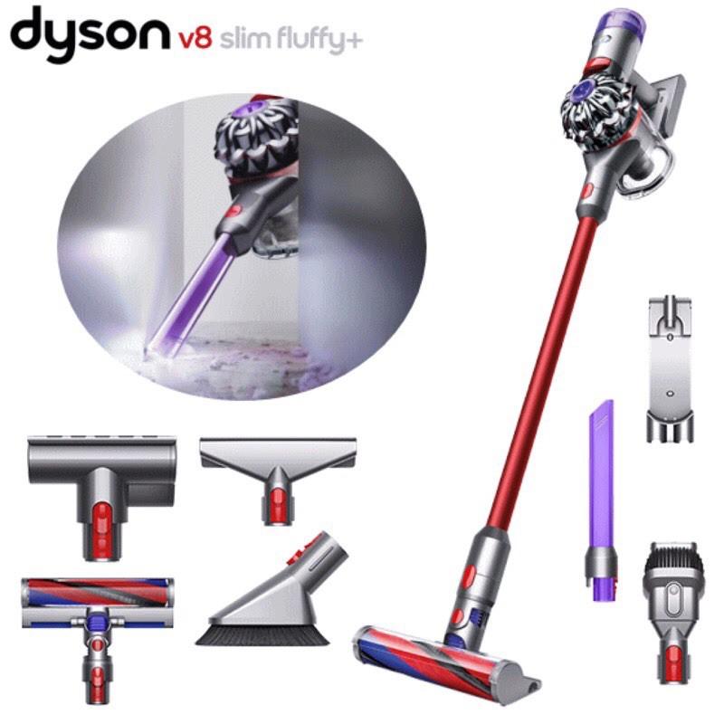 Dyson V8 Slim Fluffy+ 全新未拆封 保固兩年