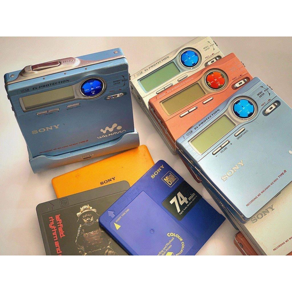 Sony/索尼MD隨身聽MZ-R910索尼MD機MZ-R910md錄放機R910MD播放器