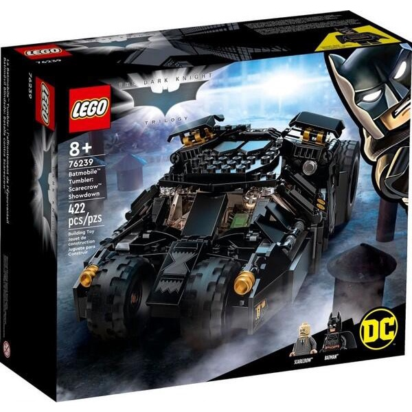 LEGO 樂高 76239 【樂高熊】 超級英雄系列 DC 蝙蝠車 稻草人的最後決戰 全新未拆 保證正版