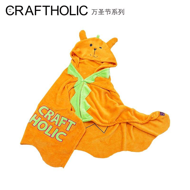 """""""優靜精選""""CRAFTHOLIC披肩毛毯幼兒園兒童午睡毯辦公室單人空調小毯子薄款"""