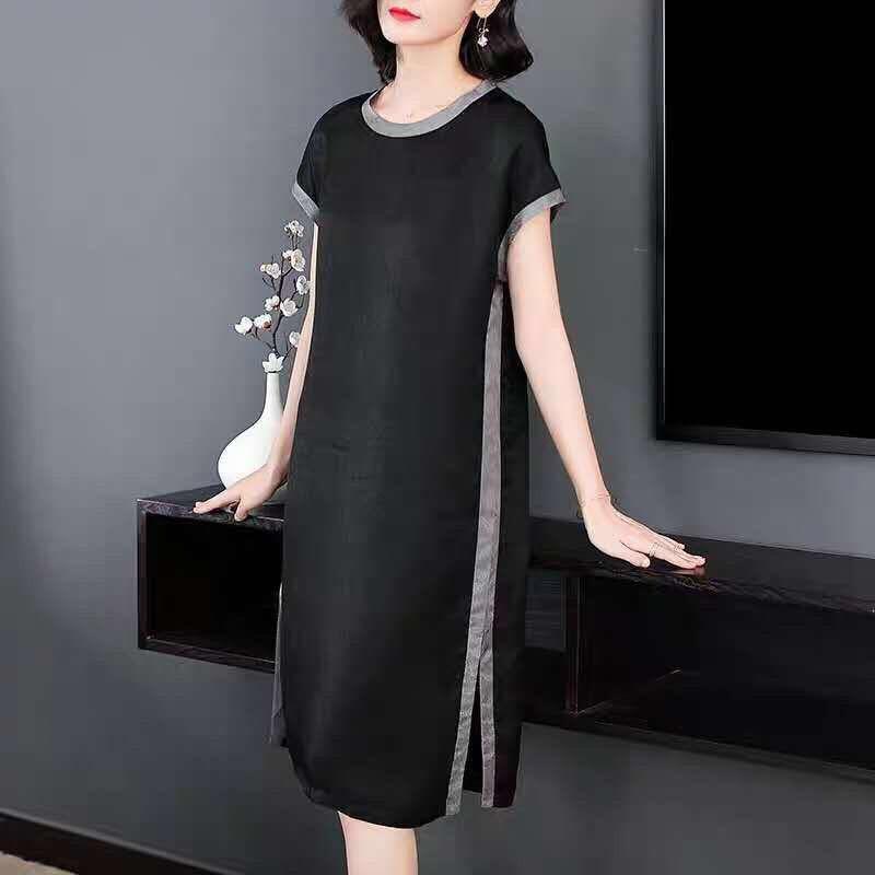 新品特價 長版洋裝 不易撞款 姐妹裝 女生衣著 時尚裙子 低价 新款連衣裙 洋氣 學生洋裝 全網最低價
