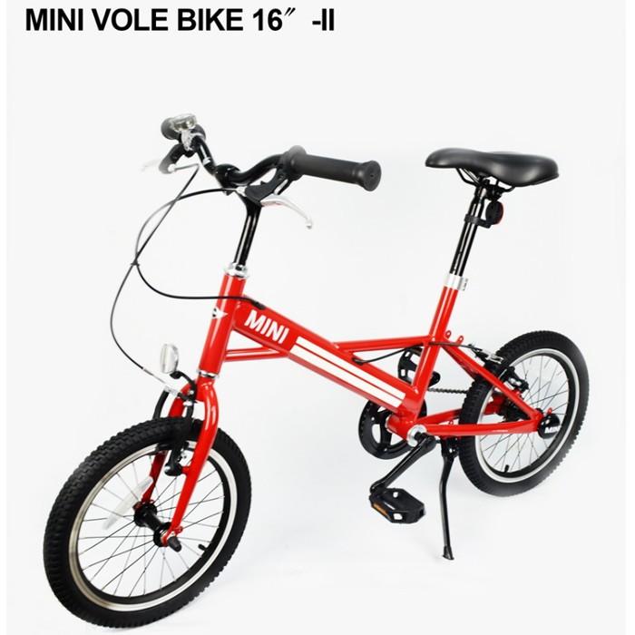 【C0007】愛妮童裝舖 免運 英國Mini Cooper 迷你小徑車16吋 總代理公司貨 保固一年 斜桿設計 腳踏車