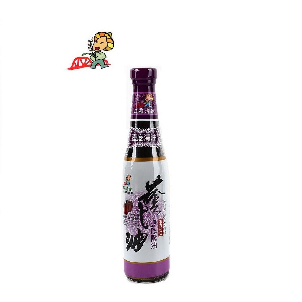 【西螺鎮農會】西農清健壺底清油(420毫升/瓶)-台灣農漁會精選
