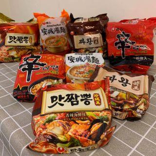 韓國泡麵 農心 炸王炸醬麵 炒碼麵 安城湯麵 辛拉麵 台中市