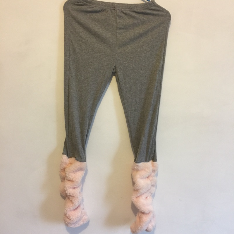 日本帶回專櫃正品tutuanna品牌純棉保暖羔羊絨泡泡襪內搭褲家居褲