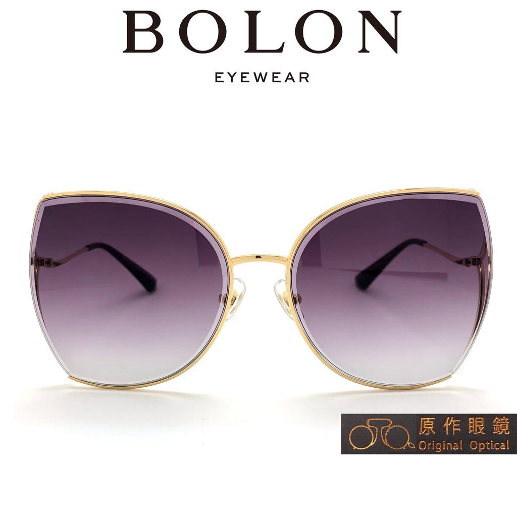 BOLON 太陽眼鏡 BL7063 A60 (金) 漸層紫鏡片 墨鏡【原作眼鏡】
