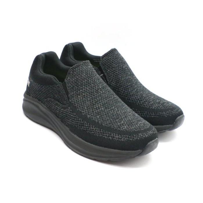 G.P 男款輕量休閒便鞋 懶人鞋 健走鞋 (P6943M10 黑)