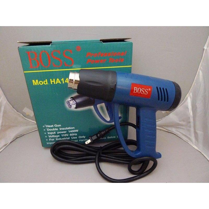 附發票*東北五金*正BOSS 專業級 HA15 電動熱風槍 新款 熱烘槍,熱風槍,封熱縮套 1400W