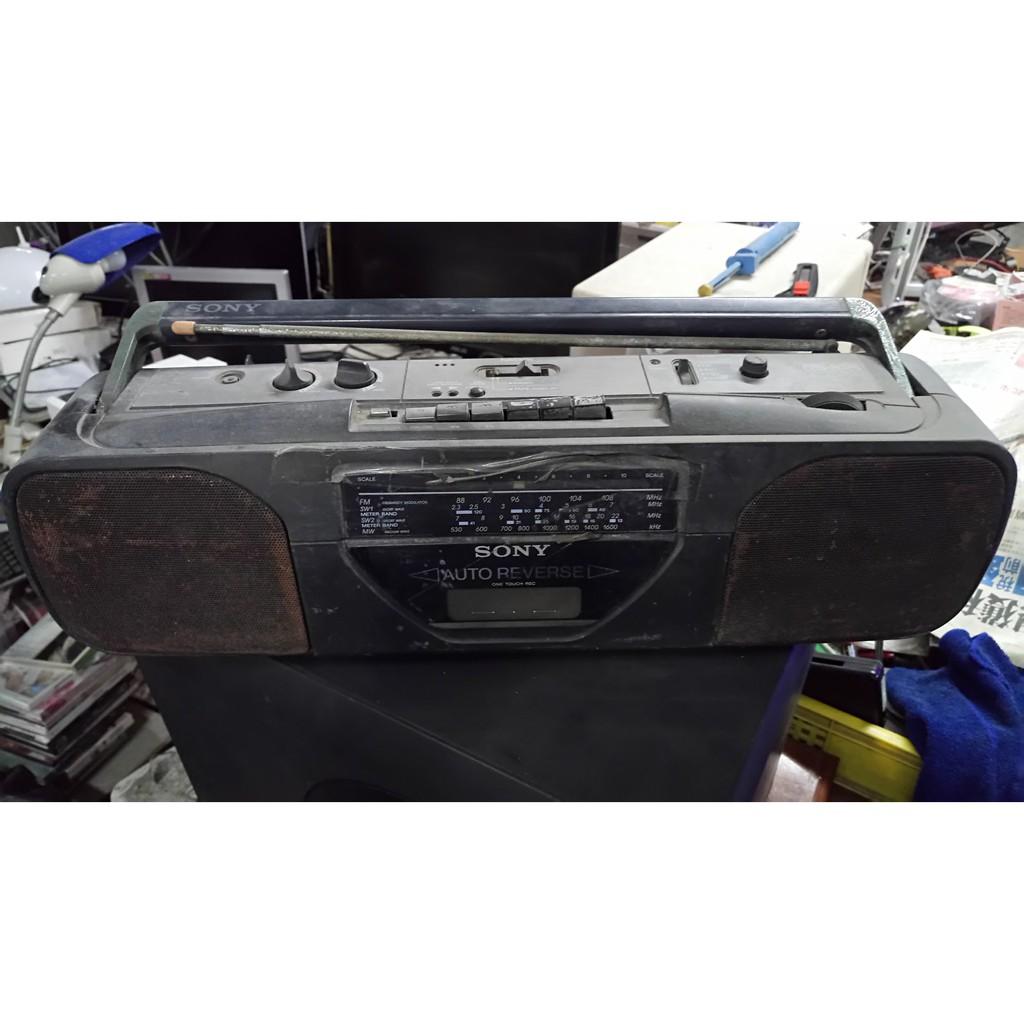懷舊 收藏 道具 早期 SONY CFS-2025 手提音響 僅供收藏不保證功能