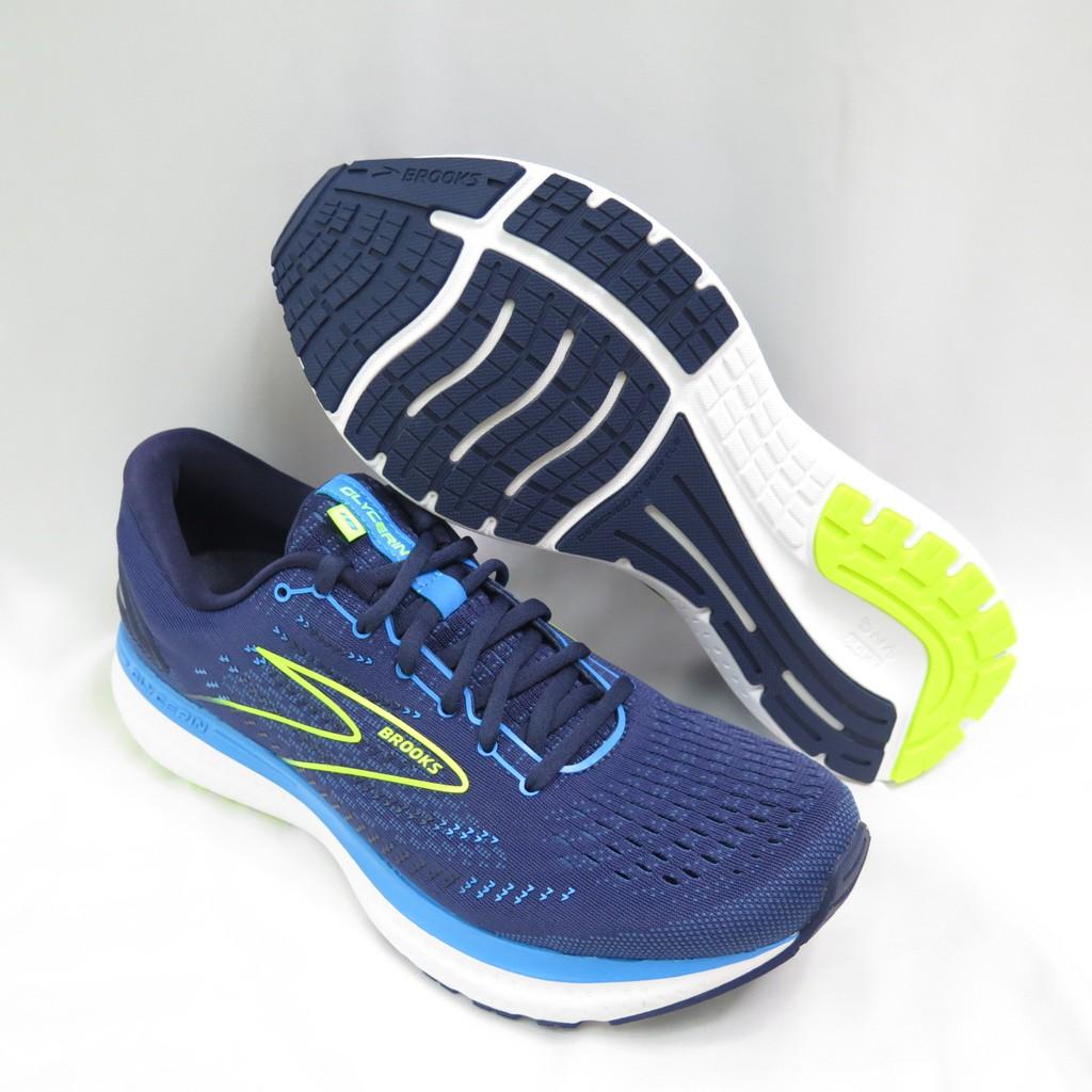 BROOKS Glycerin 19 慢跑鞋 2E寬楦 1103562E443 男款 藍【iSport 愛運動】
