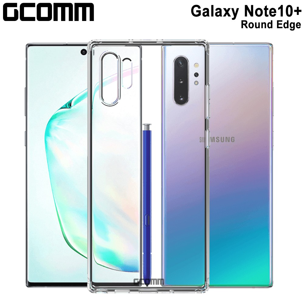 GCOMM 三星 Galaxy Note 10 PLUS 清透圓角防滑邊保護套 Round Edge