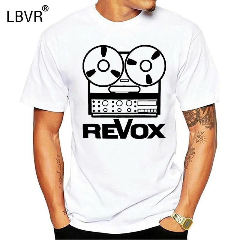 T恤Revox襯衫Dj Drawing The Mythical Recorder復古線圈V