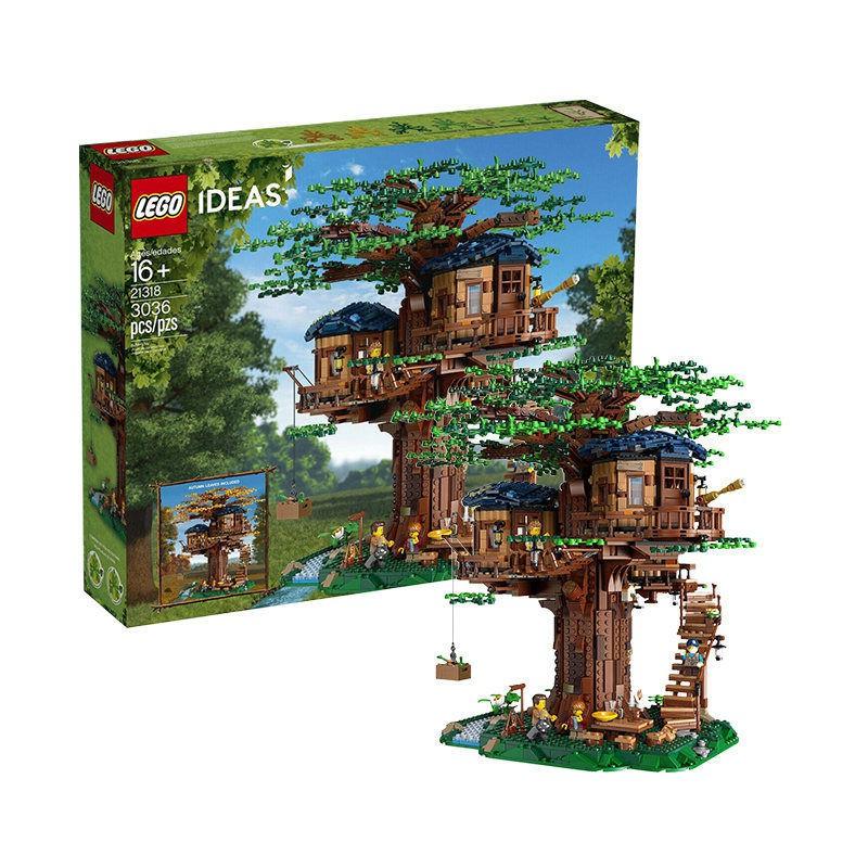 B/s適用於:LEGO/樂高 創意系列叢林四季 樹屋櫻花版 21318/yZ