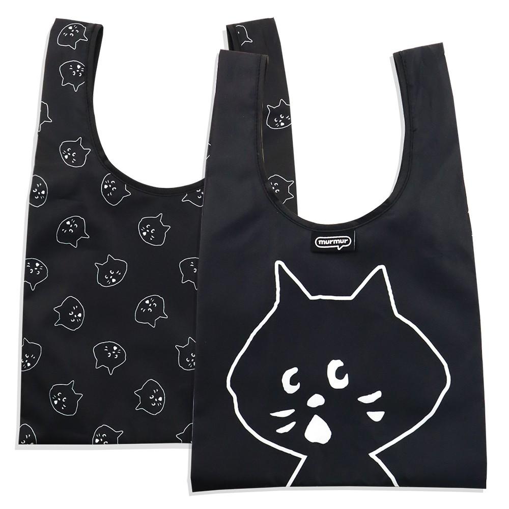 【murmur官方】NYA-環保購物袋、便當袋(大頭) │ NYA-聯名【台灣限定、正版授權】│可收納購物袋
