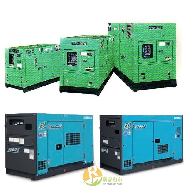 【居品租市】※專業出租平台 - 工具設備 ※ 發電機 25KW 發電機