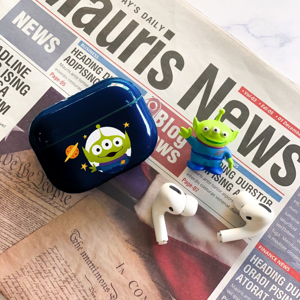 【Disney迪士尼正版授權】 Airpods Pro耳機保護套 三眼怪 Alien 獨家設計
