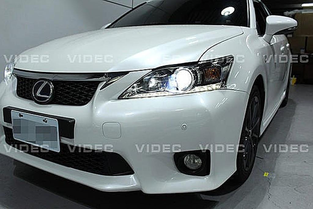 威德汽車精品 豐田 LEXUS CT200h 原廠 大燈 HID 燈泡換色 WRC D4S 6000k