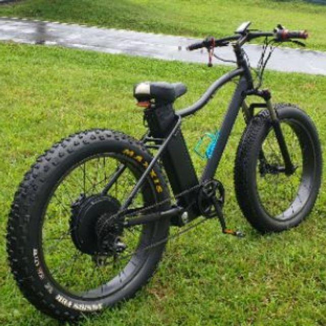 [二手]超寬輪胎4.0 Electric bike  電動沙灘車 時速45km/h. 續航60-120公里。胖胎車