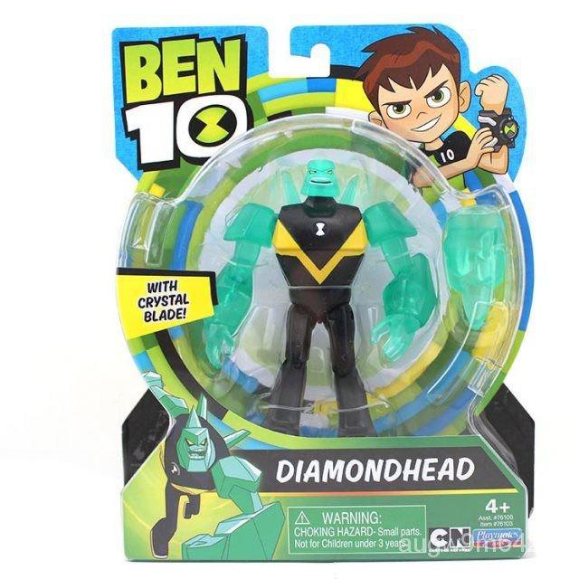 少年駭客BEN10基礎可動人偶Oitrix田小班火焰人外星玩具 ib8s
