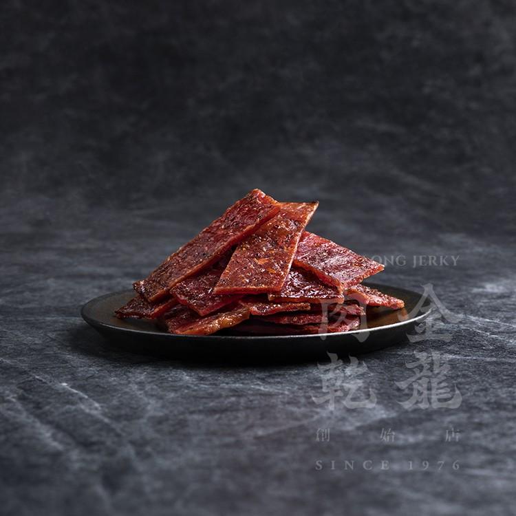 【金龍肉乾】 黑胡椒豬肉乾 150g 輕巧隨手包