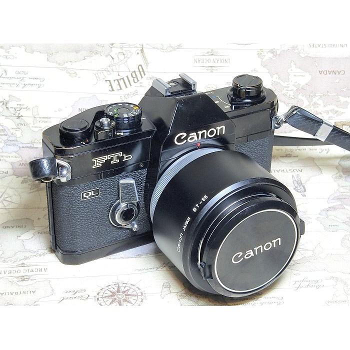 【跳蚤小舖子】Canon FTb + FD 50/1.4 F-1的精簡版/全機械底片相機