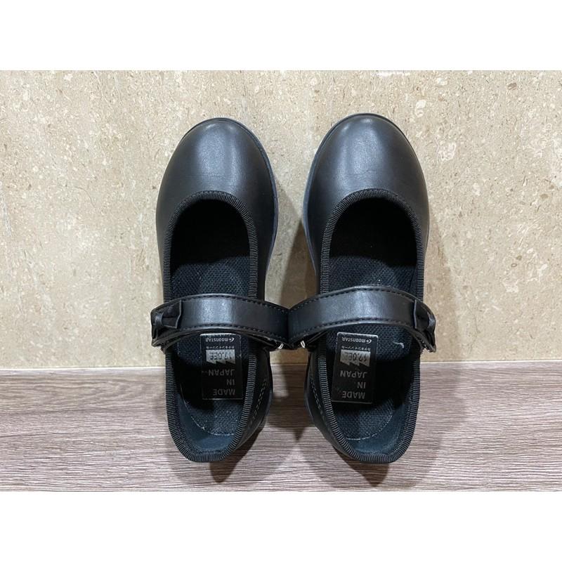 二手 日本月星Moonstar機能童鞋 日本製學生皮鞋