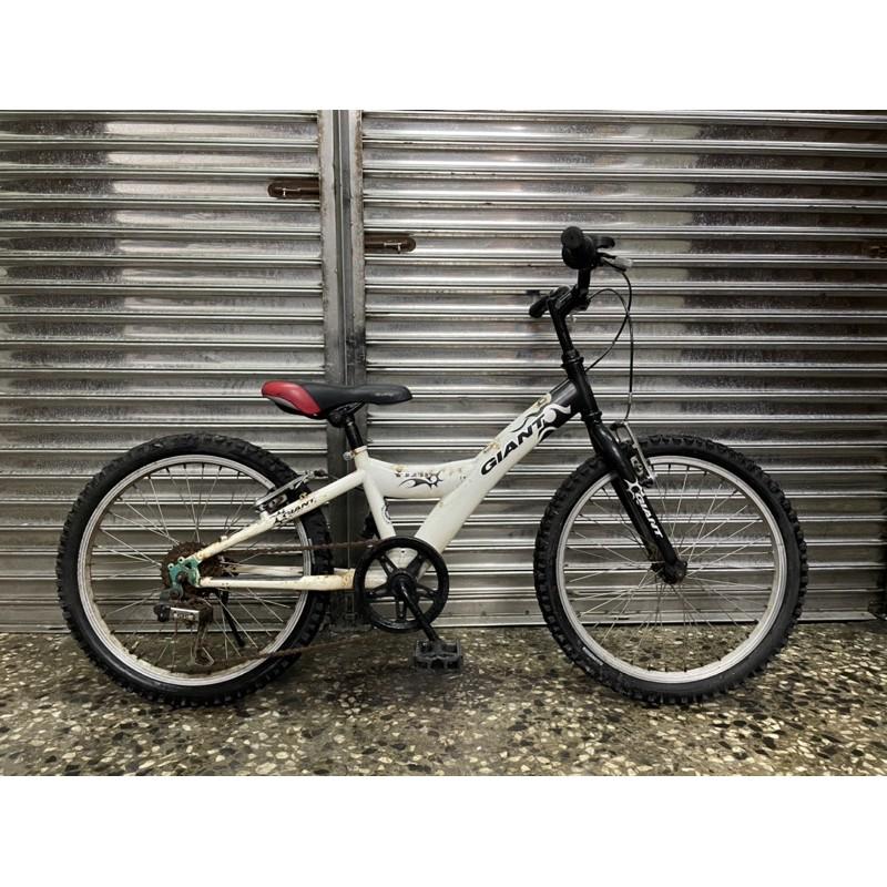 【台北二手腳踏車買賣】 GIANT 捷安特20吋兒童腳踏車 中古捷安特兒童車 二手童車