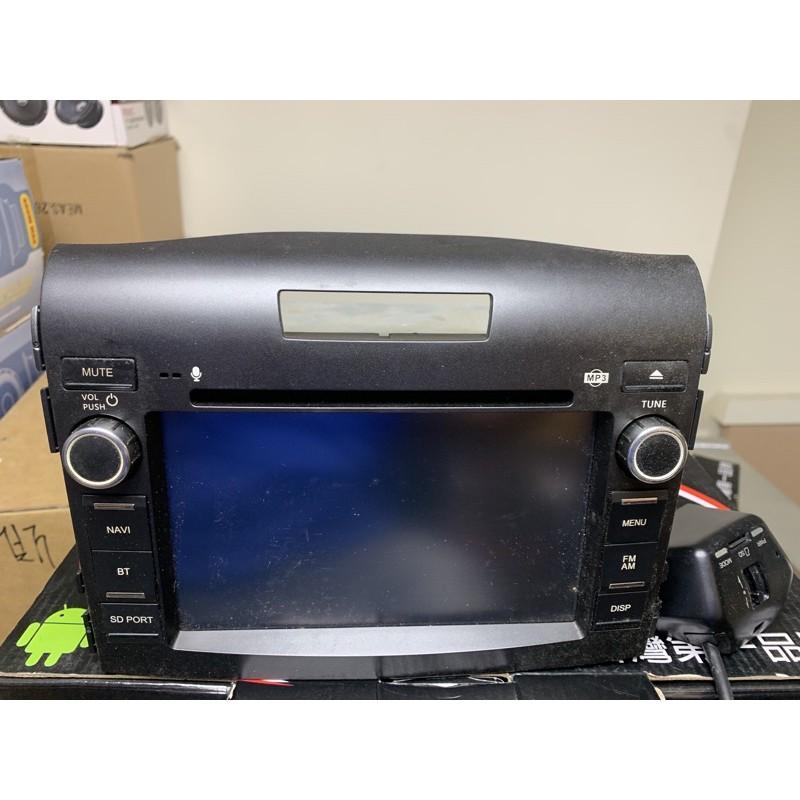 四代CRV原廠DVD主機含前行車記錄器內建導航