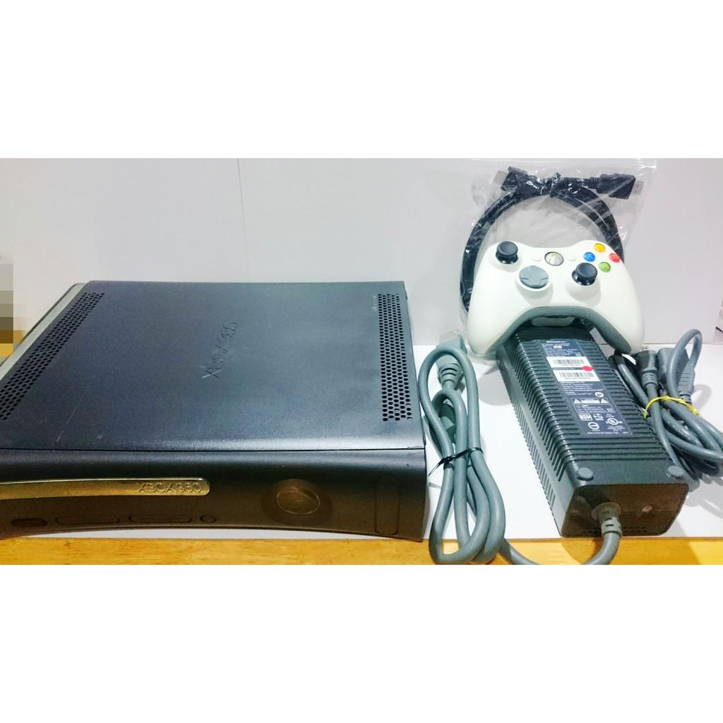Microsoft 微軟 XBOX360 主機 H組 120G 附全新HDM專用線 原廠手把 原廠變壓器電源
