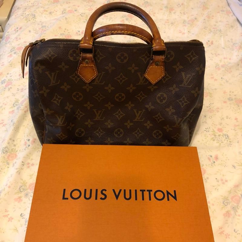 LV speedy 30 Louis Vuitton 二手出清