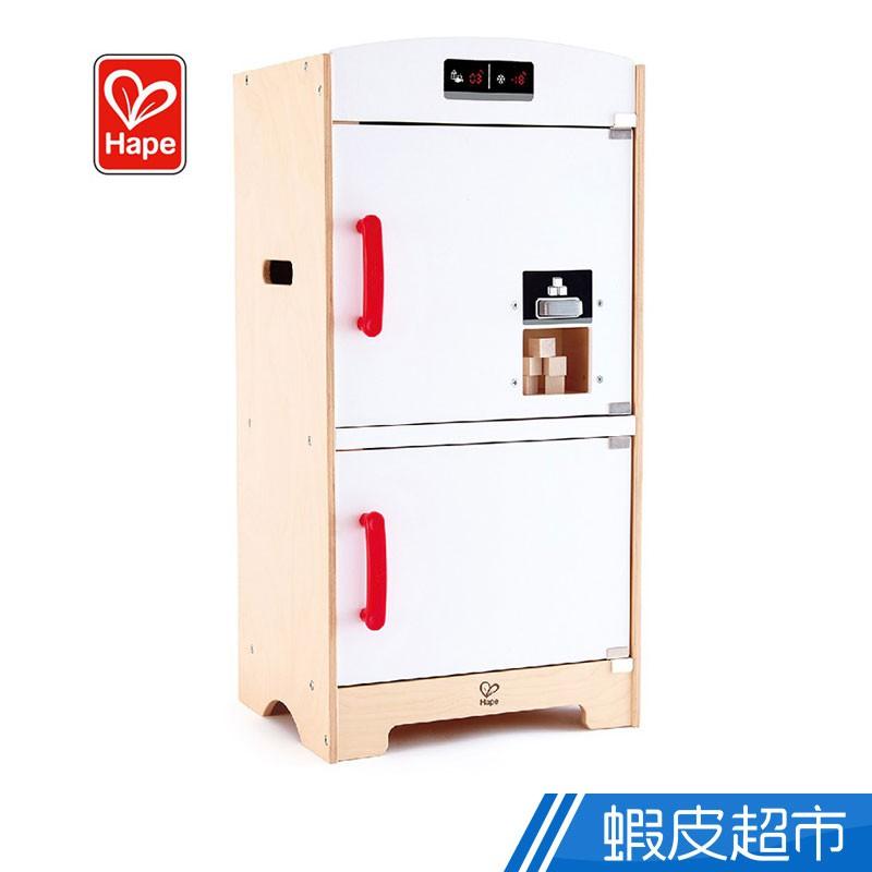 Hape 愛傑卡 木製雙門冰箱家家酒玩具 廠商直送 現貨