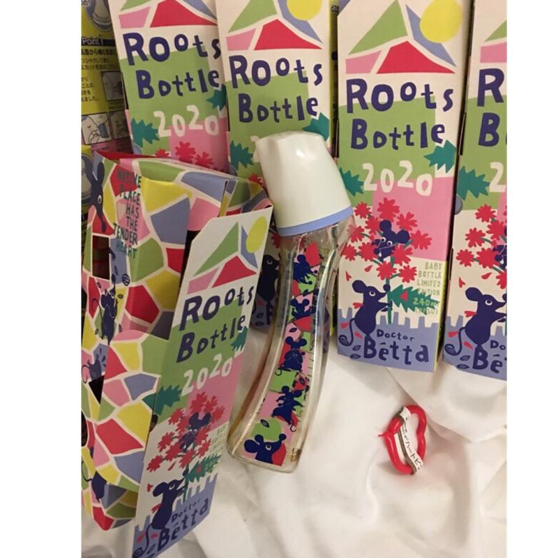 日本 Dr. Betta奶瓶 2020 Roots Bottle 💕2020 鼠年限定紀念版/PPSU-240ml