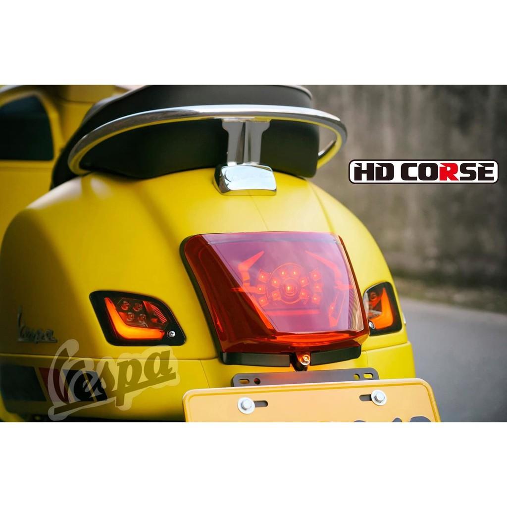 Vespa Old Shop  (偉士牌)Vespa 改裝大牌HD corse 導光方向燈組~ Gts300/Gtv30