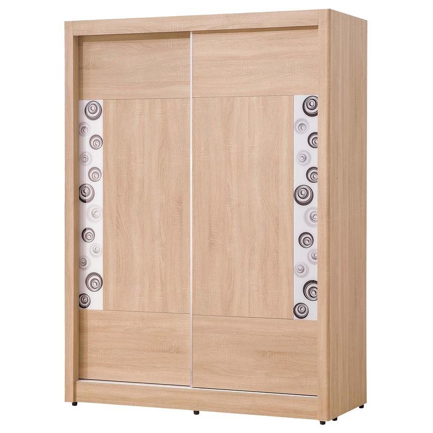 【SA041-1】 京城橡木4x7尺二門衣櫥
