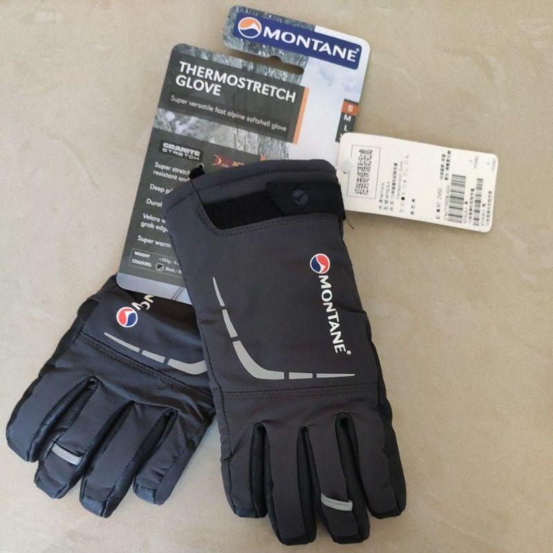 Montane(英國) THERMOSTRETCH GLOVE 保暖彈性軟殼手套