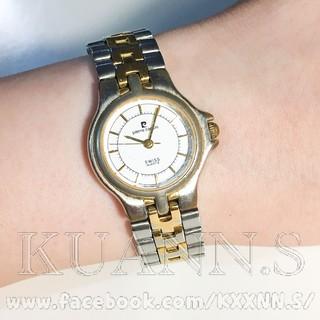::KUANN 於小飾::pierre cardin 金色 銀色 石英錶 | 古董錶 復古錶 小錶 圓錶 桃園市