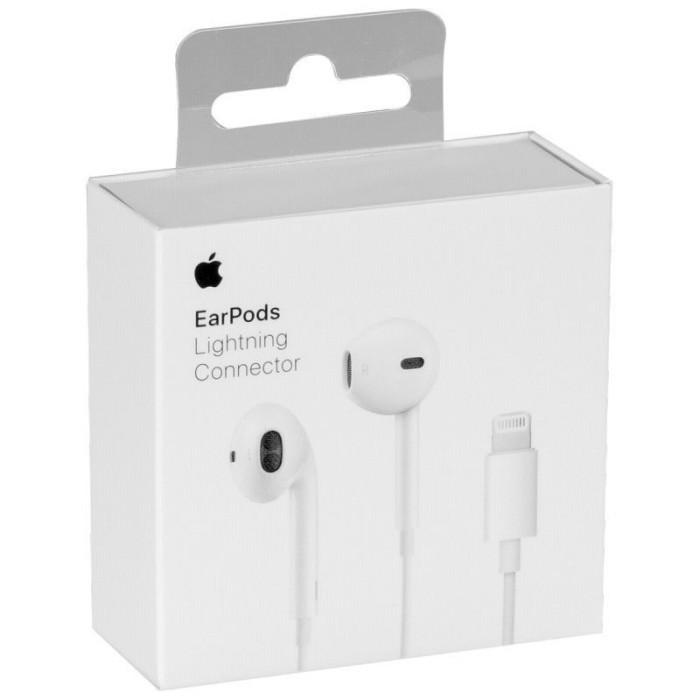 【APPLE蘋果】原廠 EarPods 具備 Lightning 連接器 耳機 拆封新品 (MMTN2FE/A)