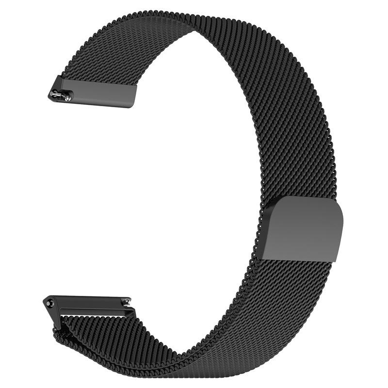 【米蘭尼斯】三星 Galaxy Watch 3 45mm R840 R845 22mm智能手錶磁吸 不鏽鋼 金屬錶帶