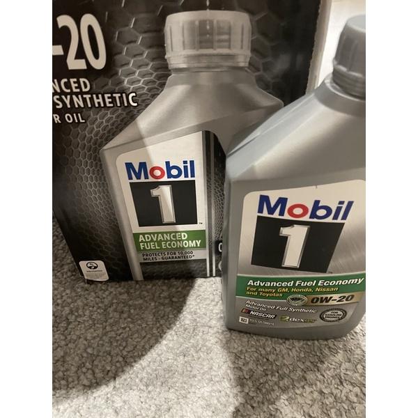 美孚 Mobil 0W-20 0W20 機油  自售  好市多