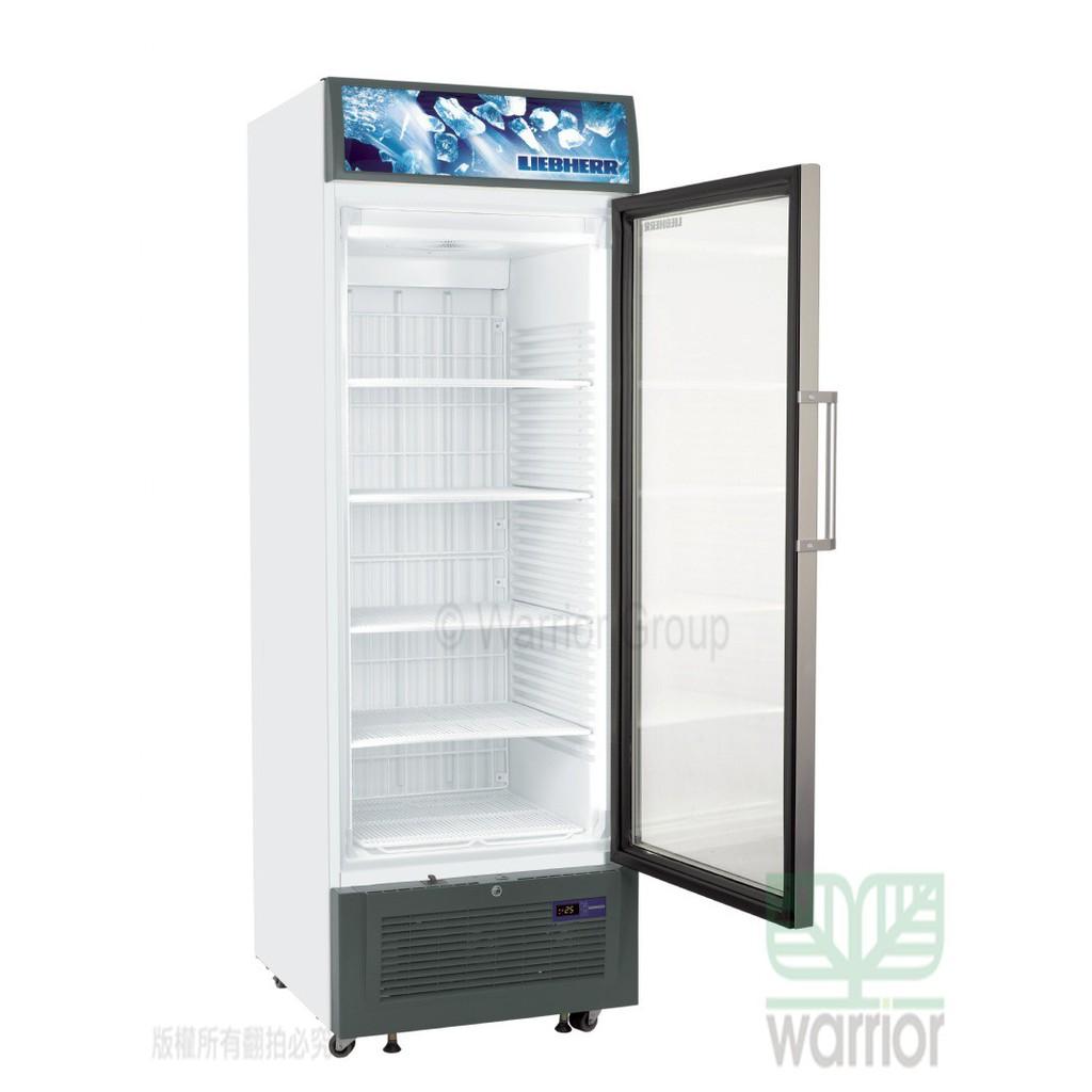 💎宅配免運費💎全新品【德國LIEBHERR直立單門冷凍櫃】直立式冷凍展示櫃 單門冰箱 玻璃冰箱 307L FDV4613