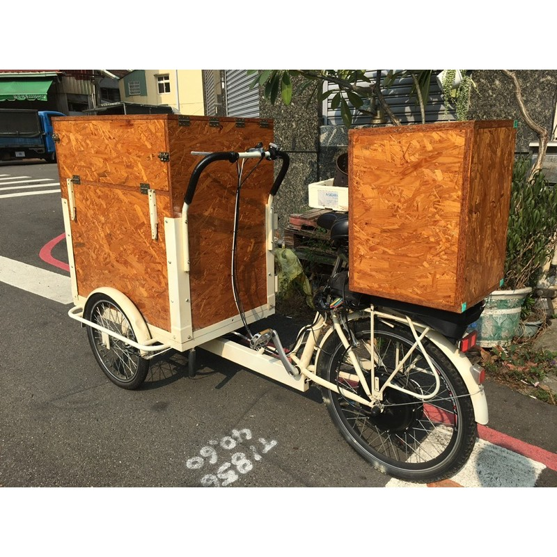 電動三輪腳踏餐車 1000W
