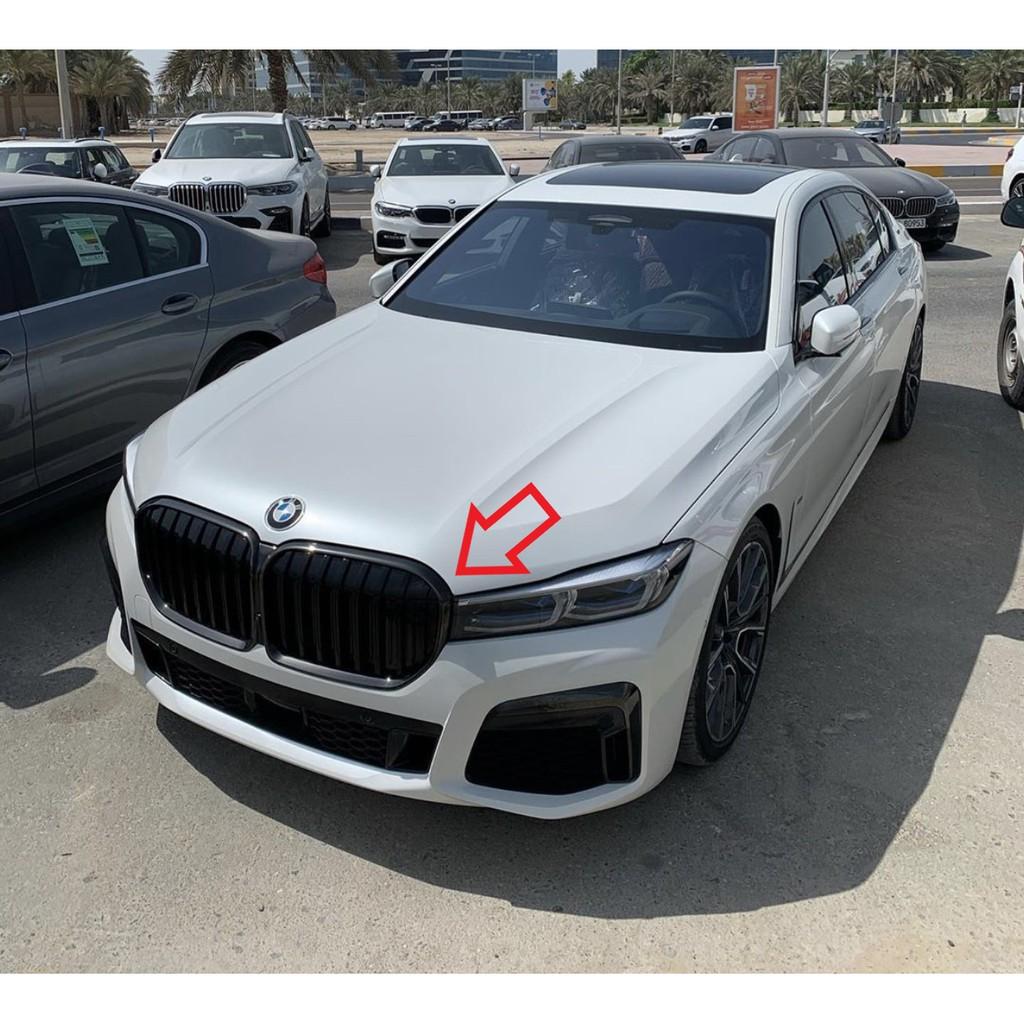 BMW原廠G11 G12 LCI M Performance高光水箱護罩鼻頭 黑鼻頭 大黑鼻頭