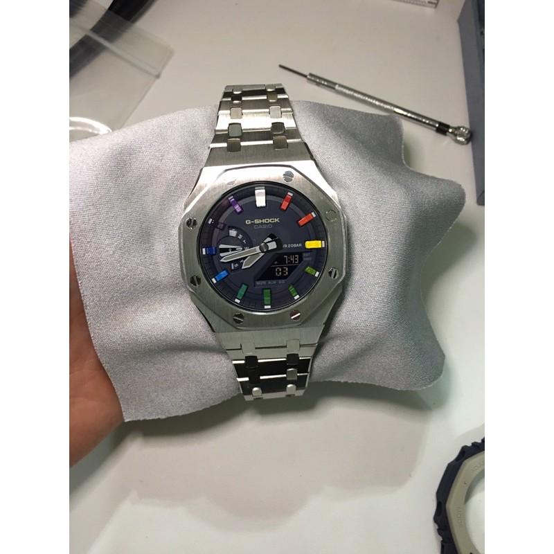 GA2100 GA2110 客製改裝 金屬錶帶