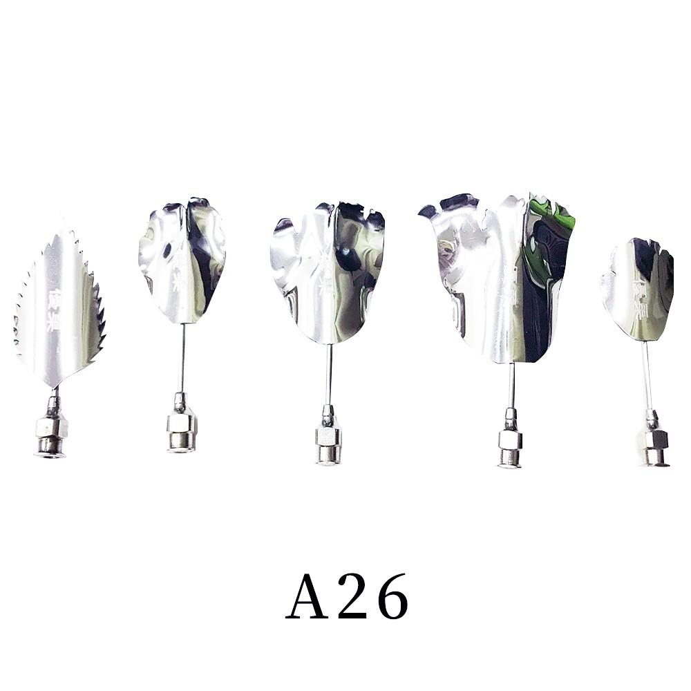 優果《越南進口不鏽鋼果凍花針A26》每組內含5支針