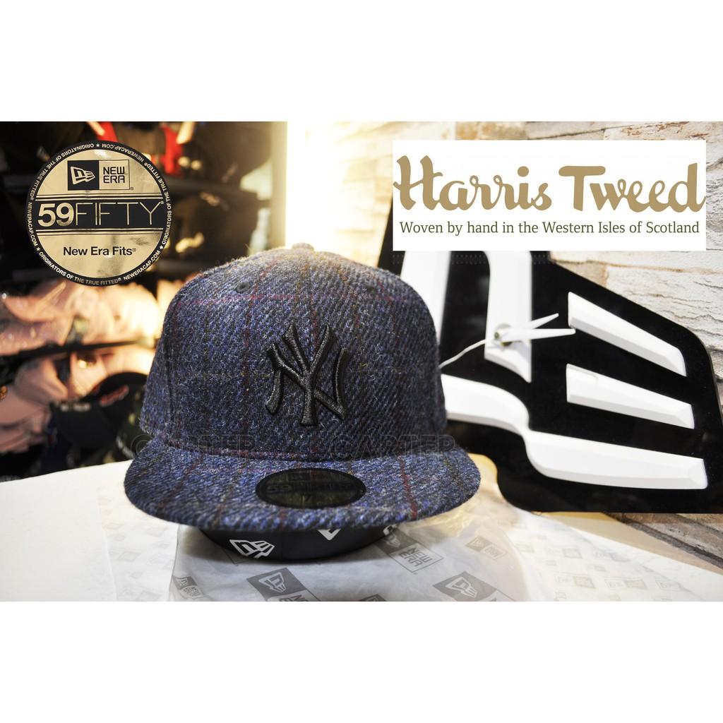 12e06d82f6b New Era x MLB x Harris Tweed New York Yankees 紐約洋基深藍日本HT編織 ...