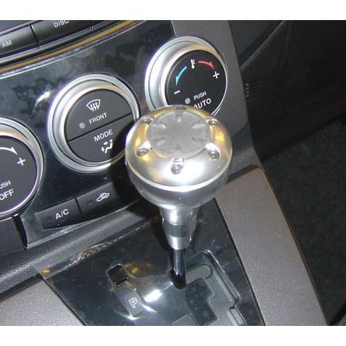 圓夢工廠 Mazda 5 馬自達 5 / Premacy 改裝 鍍鉻銀 超質感 金屬 鋁製 日系款 排檔頭