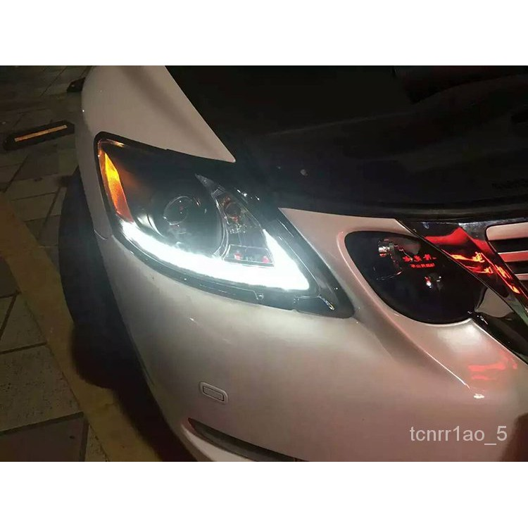 雷克薩斯GS300 GS350 GS450h GS460h後尾燈總成改裝led流光轉向燈 9G4E