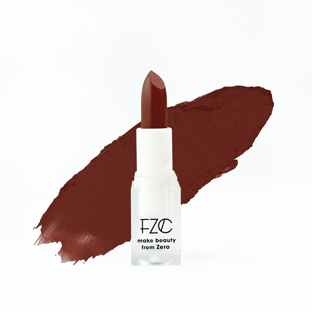 【FZC】 mod絲綢霧光唇膏 4g- 色號 R9 Mont Blant